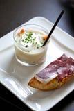 Ham and vegetable cream Royalty Free Stock Photo