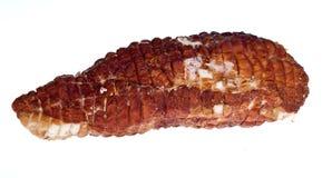 Ham in white Stock Image
