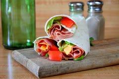 Ham Wrap Stock Photography