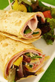 Ham wrap Royalty Free Stock Image
