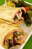 Ham wrap Royalty Free Stock Image