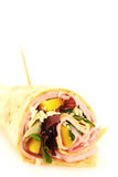 Ham wrap Royalty Free Stock Images