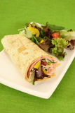 Ham wrap Royalty Free Stock Photography