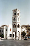 Hama clock tower Stock Images