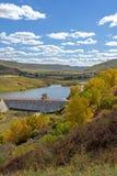 Hama (Frog) Dam scenic spot autumn scenery Stock Image