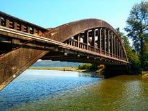 Hama hama river bridge Royalty Free Stock Images
