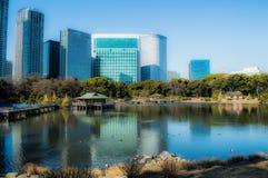 Hama Rikyu Garden in Tokyo Stock Photography