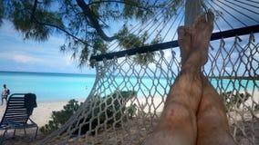 Hamac en Bahamas Photos stock