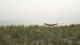 Hamac sur le lac Images libres de droits