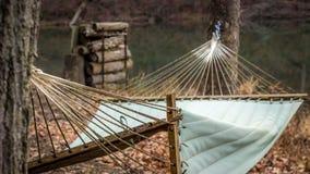 Hamaca abandonada Foto de archivo libre de regalías
