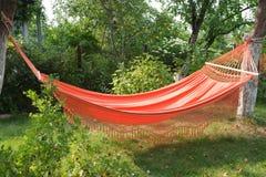 Hamaca anaranjada Foto de archivo