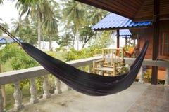 Hamaca azul, Tailandia Imagen de archivo libre de regalías