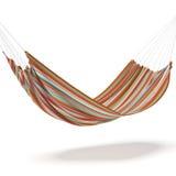 Hamaca coloreada Fotografía de archivo libre de regalías