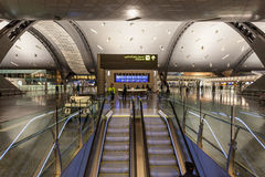 Hamad International Airport dans Doha Photo libre de droits