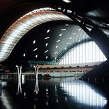 Hamad international airport. Airport doha qatar Stock Images