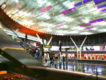 Hamad International Airport is the international airport of Doha, the capital city of Qatar. Stock Image