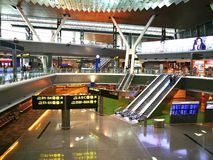 Hamad International Airport is the international airport of Doha, the capital city of Qatar. Stock Photos