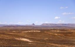 Hamada du Draa, marokkanische Steinwüste (Marokko) Stockfotos