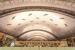 Hamada lotnisko międzynarodowe w Doha Fotografia Royalty Free