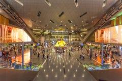 Hamada lotnisko międzynarodowe w Doha Zdjęcia Royalty Free