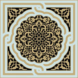 Hamadan Medieval Ornament Royalty Free Stock Image