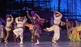 """Hamadi del sueño del """"The del drama de la Arabia-danza del  de seda marítimo de Road†Fotografía de archivo"""