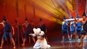 "Hamadi's grief-Dance drama ""The Dream of Maritime Silk Road"" stock video"