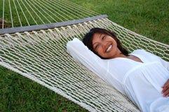 hamaka relaks Obrazy Stock