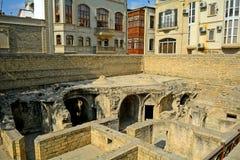 Hamam, Baku, Azerbaijan. Hamam ruins in Baku, Azerbaijan Stock Images