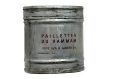 Hamam d'éclailles de savon Image libre de droits
