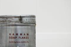Hamam d'éclailles de savon Photo stock