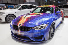 2015 Hamann BMW M4. Presented on the 85th International Geneva Motor Show Royalty Free Stock Photos