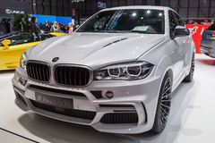 2015 Hamann BWW X5 M50d. Presented on the 85th International Geneva Motor Show Stock Photo