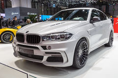 2015 Hamann BWW X5 M50d. Presented on the 85th International Geneva Motor Show Stock Photos