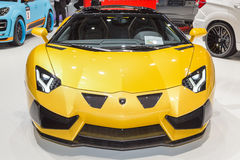 2015 Hamann Lamborghini Aventador Roadster. Presented on the 85th International Geneva Motor Show Stock Photo