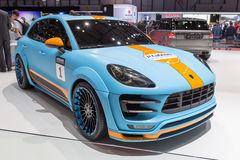 2015 Hamann Porsche Macan S Diesel. Presented on the 85th International Geneva Motor Show Royalty Free Stock Photography