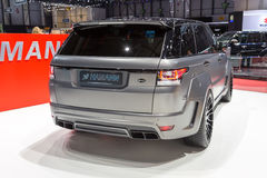 2015 Hamann Range Rover Sport. Presented on the 85th International Geneva Motor Show Royalty Free Stock Photography