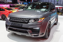 2015 Hamann Range Rover Sport. Presented on the 85th International Geneva Motor Show Stock Images