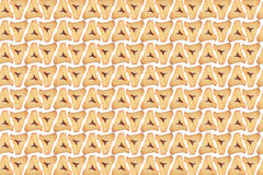 Hamantaschen background Stock Photography