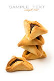 Hamantaschen cookies Stock Image