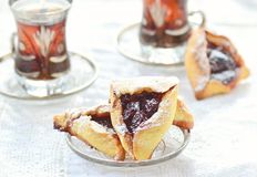 Hamantaschen Royalty Free Stock Photos