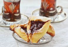 Hamantaschen Stock Images