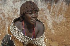 Hamar woman Royalty Free Stock Photography