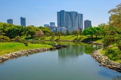 Hamarikyu Gardens Tokyo Royalty Free Stock Images