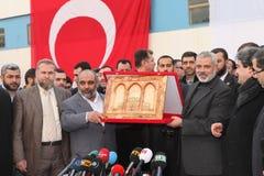 Hamas Leader Ismail Haniyeh Stock Photos