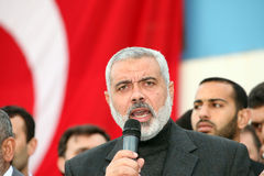 Hamas Leader Ismail Haniyeh Stock Photo