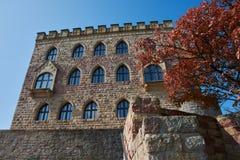 Hambacher Schloss in Germania, settembre 2017 Immagini Stock