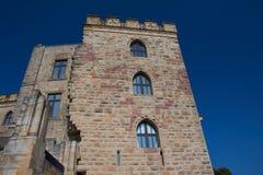 Hambacher Schloss in Germania, settembre 2017 Immagine Stock