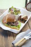 Hamberger beef Royalty Free Stock Photo