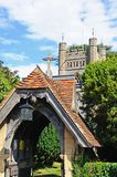 Hambledon church. Stock Photo
